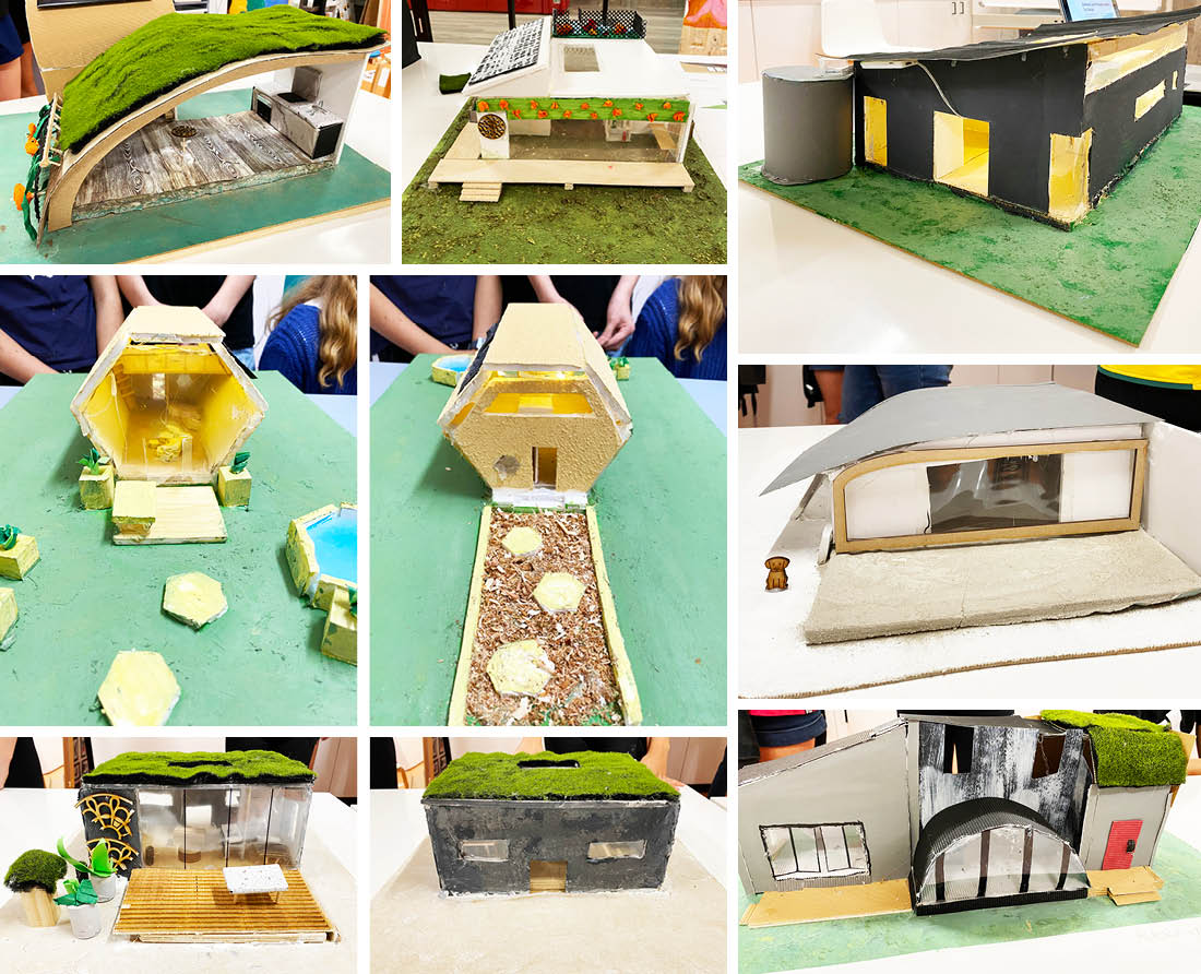 Sustainable futures - Lindfield Learning Village student models